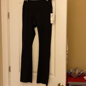 Zella Black Stretch Gym Pants New With Tags